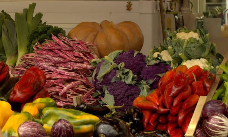 Het Italiaanse groenten boek