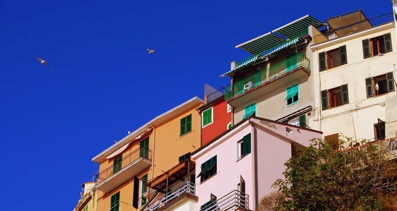 Vakantiehuizen in Ligurie