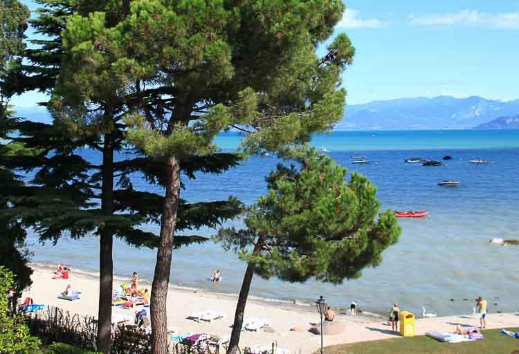 De beste campings in Italie, strand of meren?
