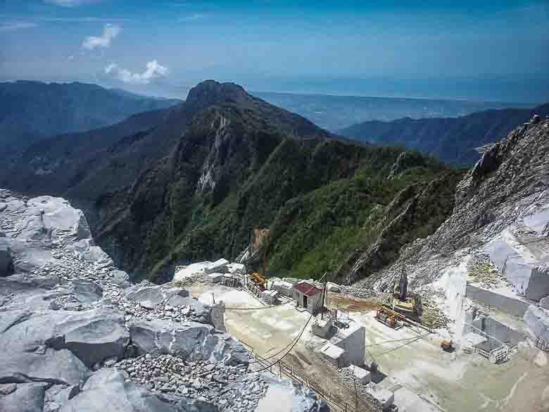 Marmergroeven van Carrara