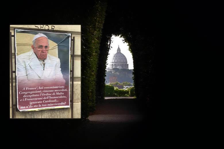 Smeercampagne Paus Franciscus Rome wel degelijk gelinkt aan Witte Huis ideoloog