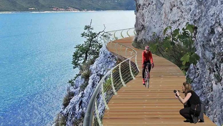 Gardesana, het mooiste fietspad