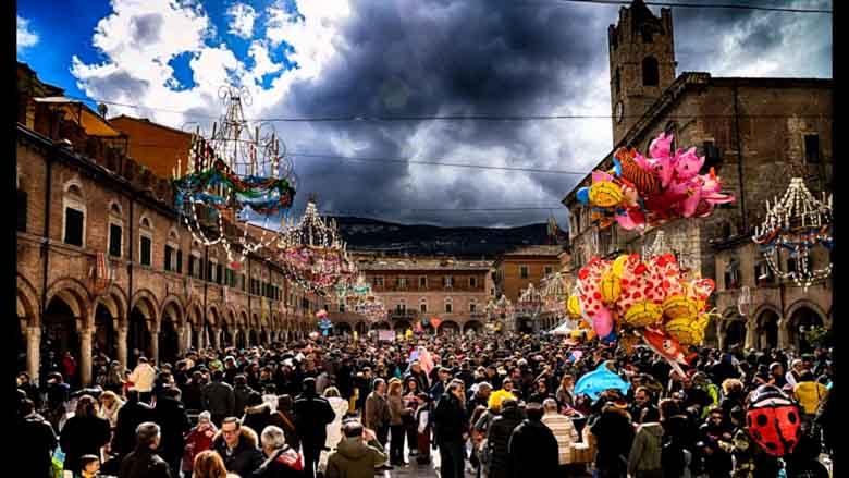 Bibi´s blog | Historische carnavalsfeesten in Ascoli Piceno.