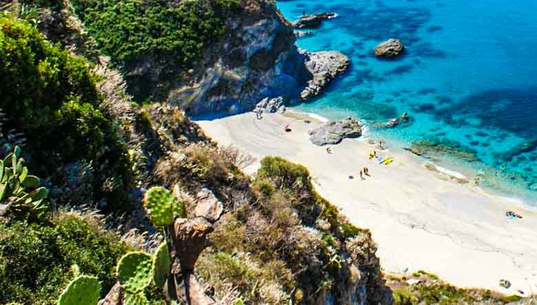 Tropea strand in Calabrie