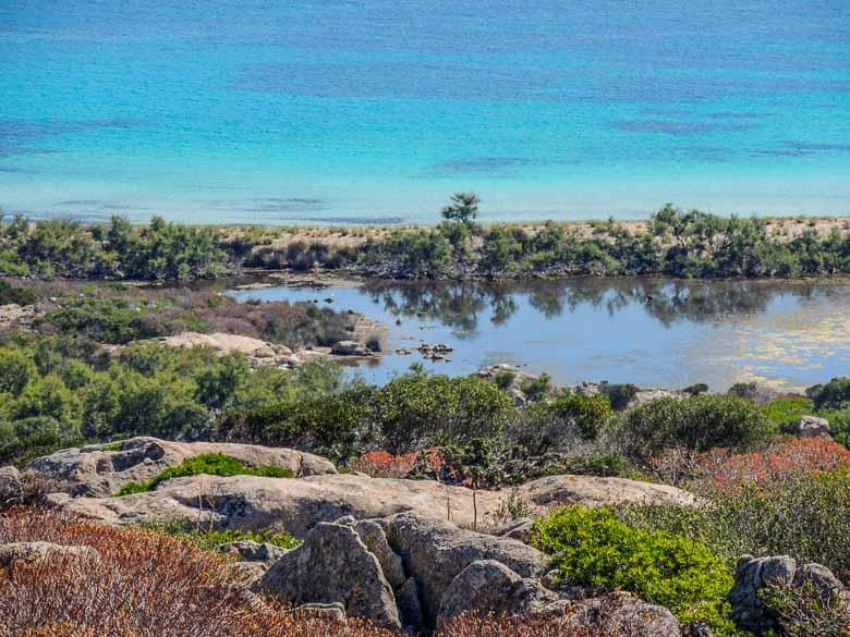 Asinara, het ezelseiland in het noordwesten van Sardinië