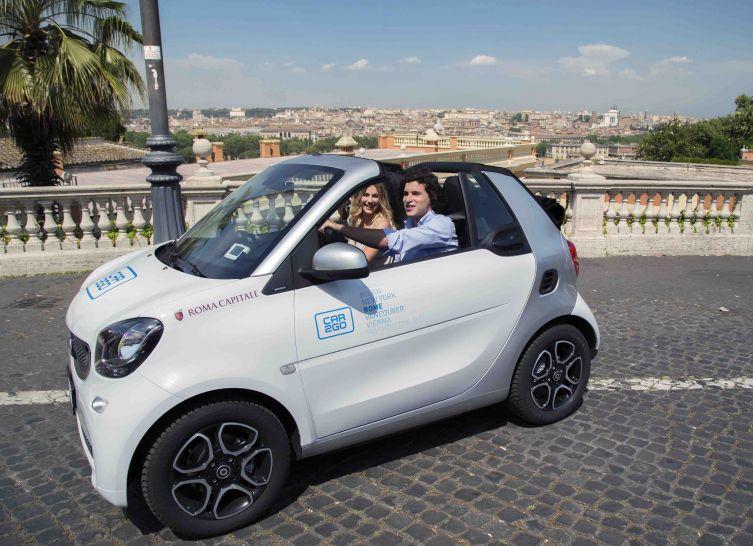 Autodelen met car2go op vakantie in Italië