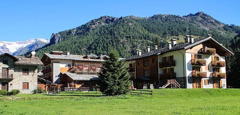 Hotel Lo Scoiattolo in het Monterosa berggebied