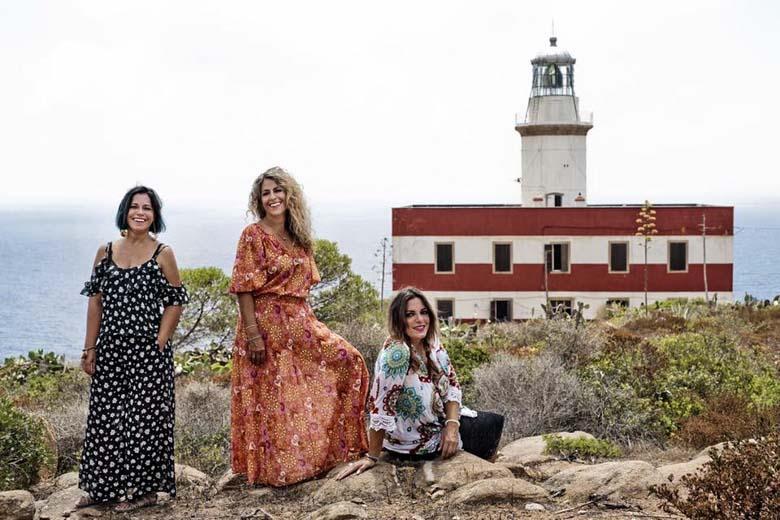 De drie zusters van Capel Rosso op Giglio