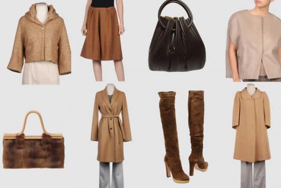 Mode toppers uit de najaar en wintercollectie van italiaanse modemerken
