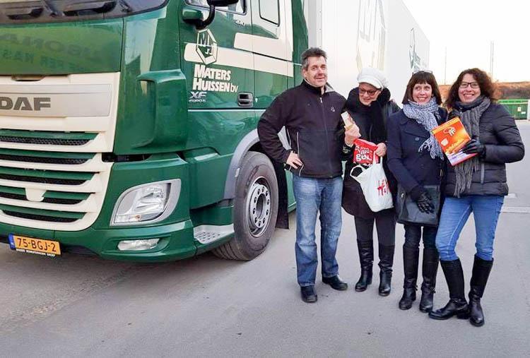Rob de Trucker, kortste schakel tussen Italië en de Nederlandse supermarkt