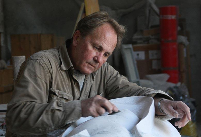 Interview Eppe de Haan, beeldhouwer