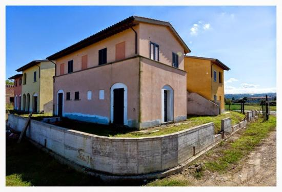 ´La Prioria´: nieuw te bouwen villa´s in Toscaanse Borgo in Monte San Savino