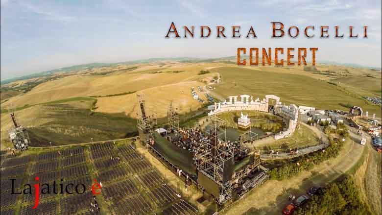 Andrea Bocelli jaarlijks concert in het Teatro del Silencio