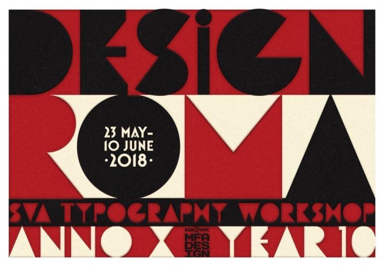 Mei - Masters Workshop: Design in Rome met Louise Fili & Lita Talarico