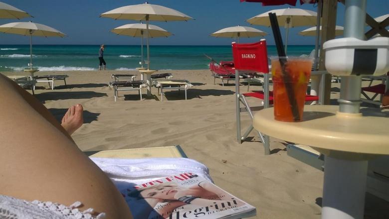 Antistress Resort aan het witte strand van de Salento in Puglia