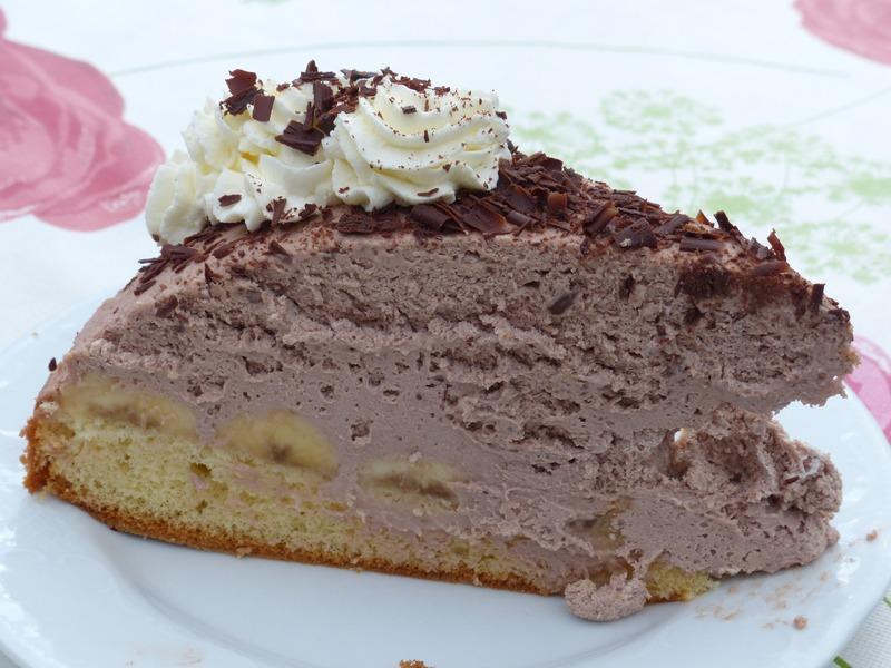 Chocolade en mascarpone taart