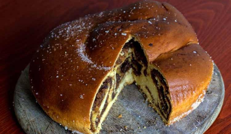 Kerstbrood 'Dolce Gubana'  uit Friuli