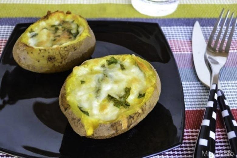 Patate Ripiene - Gevulde aardappelen