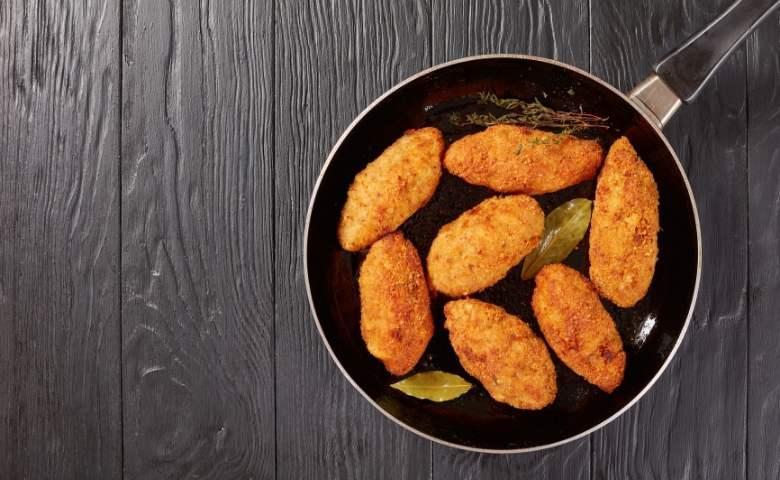 Aardappelkroketten met Parmazaanse kaas