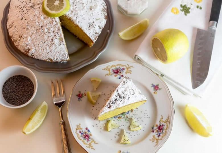 Citroen Ricotta Cake