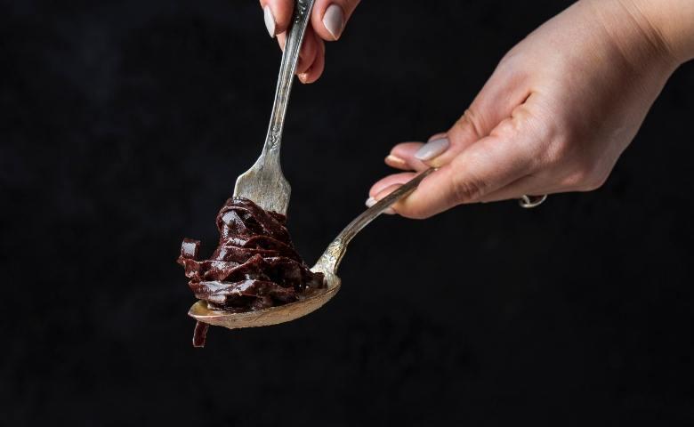 Pappardelle al cioccolato