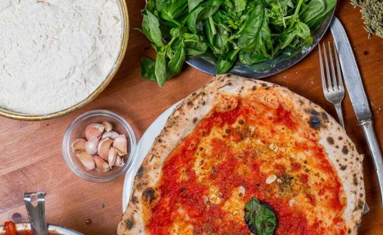Pizza Marinara uit Napels