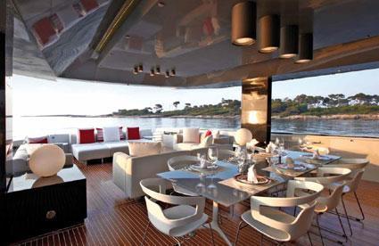 Design concept interieur schip Arcadia