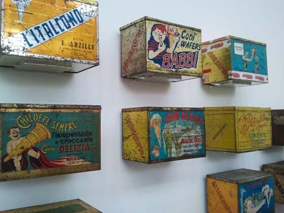Het Carpigiani gelato museum bij Bologna